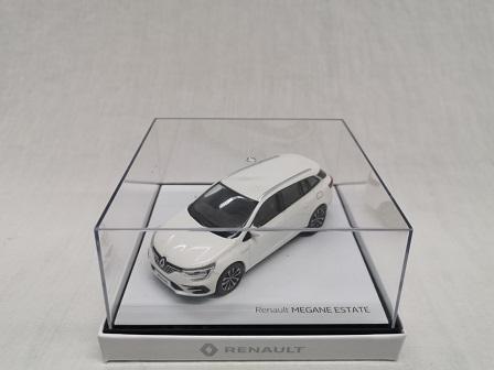 Renault Megane Estate 2020 Wit 1-43 Norev
