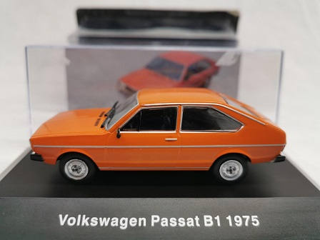Volkswagen Passat B1 1975 Oranje 1-43 Altaya Volkswagen Collection