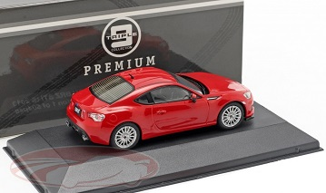 Subaru BRZ STI IS 2013 Rood 1-43 Triple 9 Collection Limited 504 Pieces