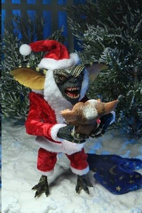 "Gremlins: Ultimate Santa Stripe and Gizmo Spend A Merry Christmas With ""Gremlins"" 7 inch/17cm Neca"