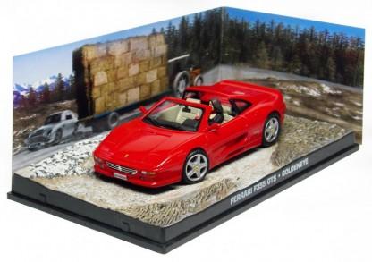 "Ferrari F355 GTS James Bond ""Goldeneye"" Rood 1:43 Altaya James Bond 007 Collection"