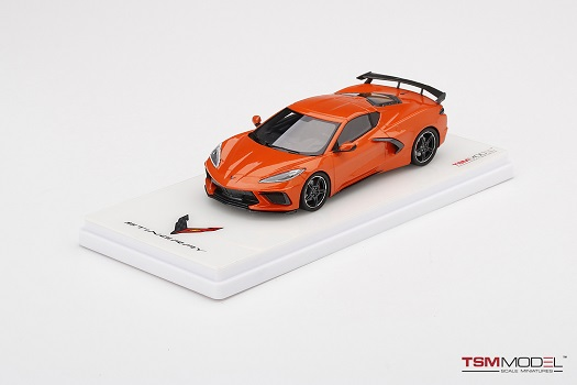 Chevrolet Corvette C8 2020 Stingray Sebring Orange Tintcoat 1-43 True Scale Miniatures