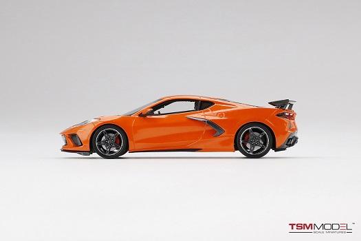 Chevrolet Corvette C8 2020 Stingray Sebring Orange Tintcoat 1-43 True Scale Miniatures