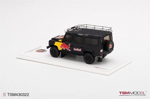 "Land Rover Defender 110 Red Bull ""LUKA"" Promotional Vehicle 1-43 TSM Models"