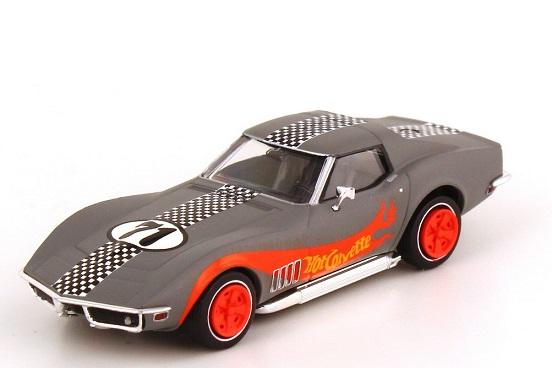 """Chevrolet Corvette C3 Nr.71 """"Hot Corvette"""" Grijs 1-87 Brekina"""