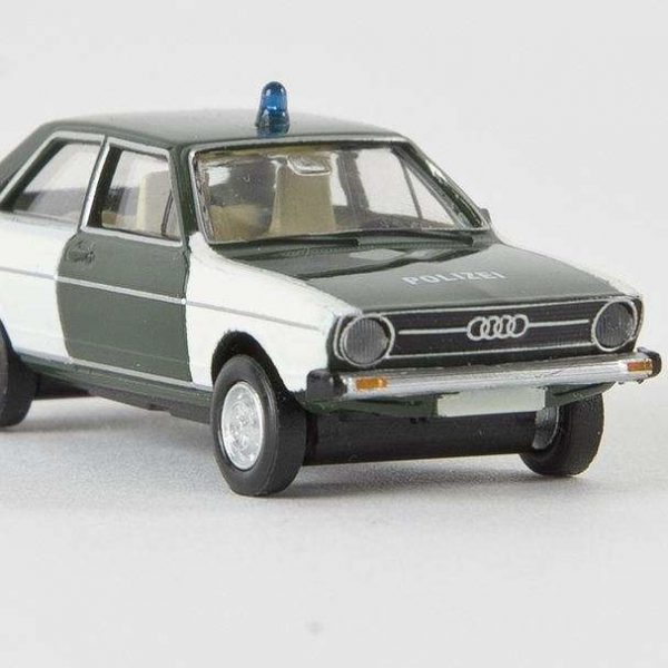 Audi 80 Polizei Bayren 1-87 Brekina