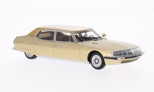 Citroen SM 1971 Opera By Henri Chapron, Gold-Metallic Light Brown 1-43 BOS Models
