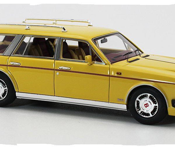 Bentley Estate Val D'Isere by Robert Jankel 1986 1-43 Geel GLM Models Limiteds 299 pcs.