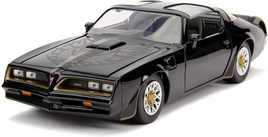 "Pontiac Firebird 1977 Tego's ""Fast and The Furious"" Zwart 1-24 Jada Toys"
