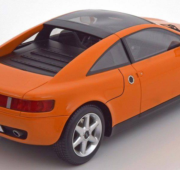 Audi Quattro Spyder Concept Car, IAA Frankfurt 1991 Oranje BOS Models Limited 1000 Pieces