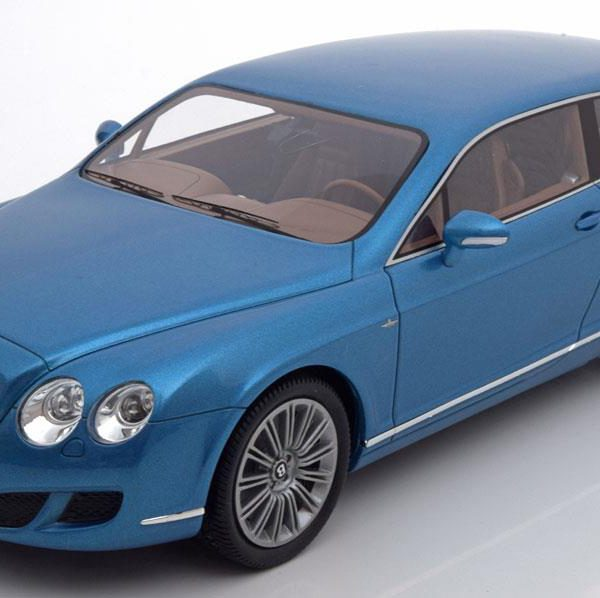 Bentley Continental Flying Star by Touring 2010 Blauw Metallic 1-18 BOS Models Limited 1000 Pieces