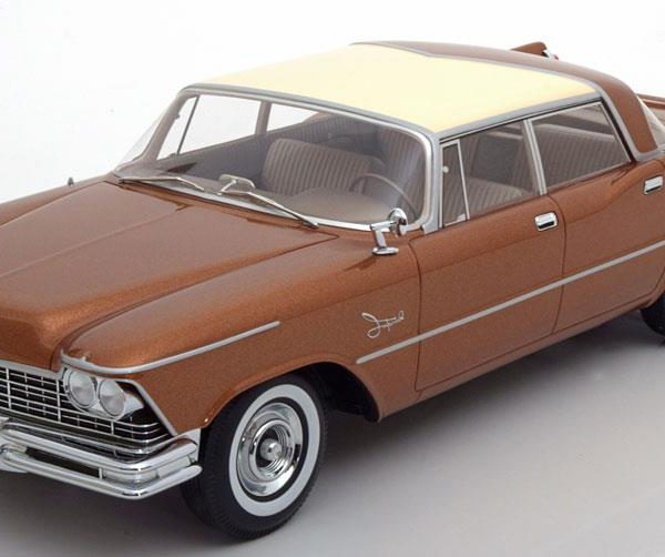 Imperial Crown Southampton 4-Doors Bruin Metallic / Creme 1-18 BOS Models Limited 1000 Pieces