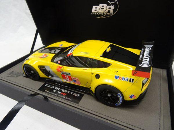 Chevrolet Corvette C7-R #3 Detroit 2014 Press Version 1-18 BBR Models Limited 100 Pieces