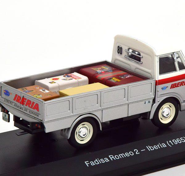 "Fadisa Romeo 2 ""Iberia"" 1965 Grijs 1-43 Altaya"