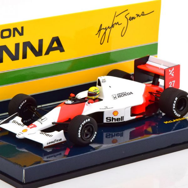 McLaren Honda MP4/5B GP Japan 1990 Ayrton Senna 1-43 Minichamps ( Inkl. Decals ) ( Resin )