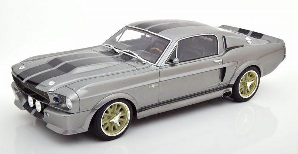 "Ford Mustang Shelby GT500 ""Eleanor Gone in 60 Seconds"" 1967 Grijs Metallic / Zwart 1-12 Greenlight Collectibles ( Resin )"