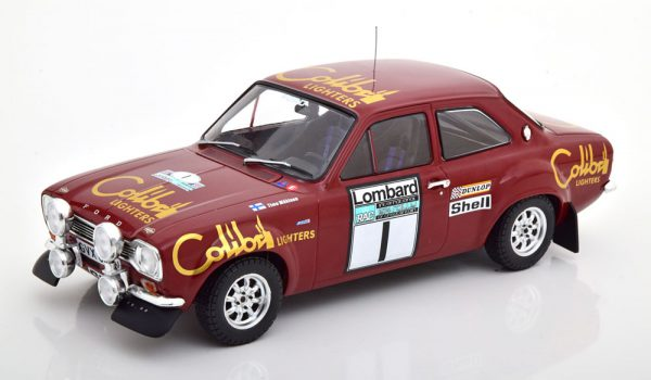 Ford Escord MK1 RS1600 No.1 RAC Rally 1974 Mäkinen/Liddon1-18 Ixo Models
