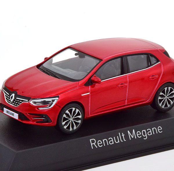 Renault Megane 2020 Rood Metallic 1-43 Norev