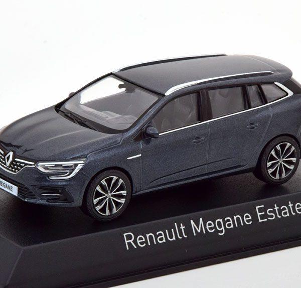 Renault Megane Estate 2020 Donkergrijs Metallic 1-43 Norev
