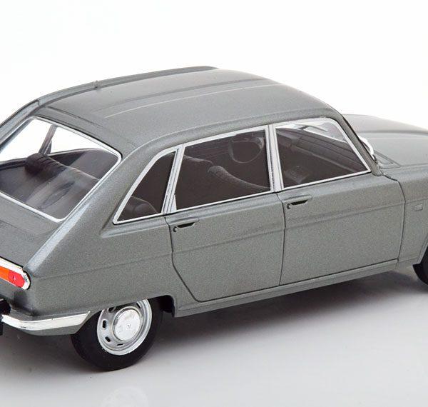 Renault 16 1965 Grijs Metallic 1-24 Whitebox