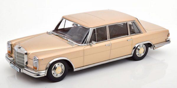 Mercedes-Benz 600 SWB ( W100 )1963 Goud Metallic 1-18 KK Scale Limited Edition