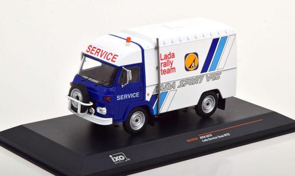 Avia A21F Lada Service Team VFTS Wit / Blauw 1-43 Ixo Models