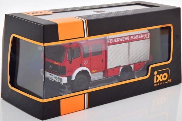 "Mercedes-Benz LF 16/12 ""Feuerwehr Essen"" 1995 Rood 1-43 Ixo Models"
