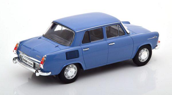 Skoda 1000 MB 1969 Blauw 1-24 Whitebox