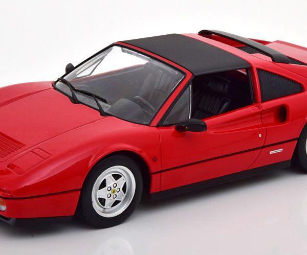 Ferrari 328 GTS 1985 Rood 1-18 KK Scale ( Metaal )