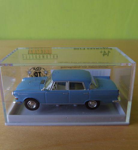Borgward P100 Lichtblauw 1-87 Brekina