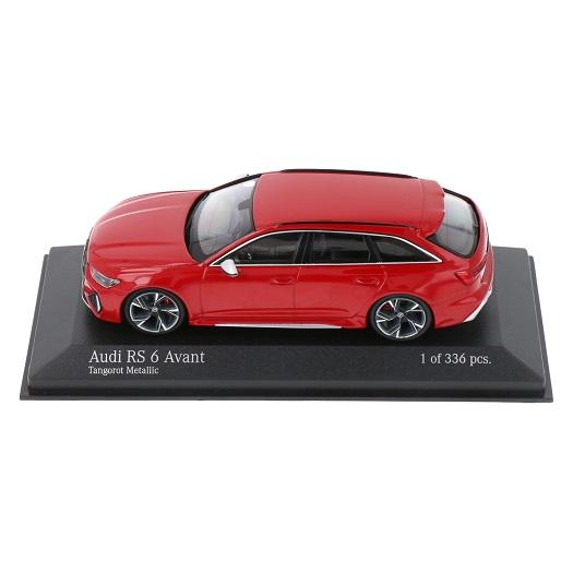 Audi RS6 Avant 2019 Rood Metallic 1-43 Minichamps Limited 336 Pieces