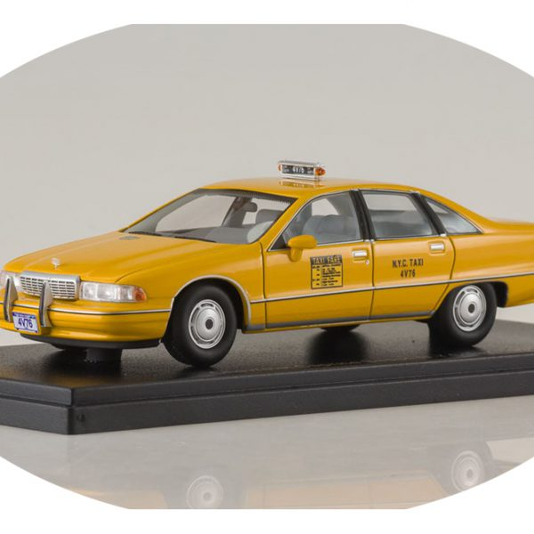 Chevrolet Caprice Sedan Taxi New York ( USA ) Geel 1-43 BOS Models