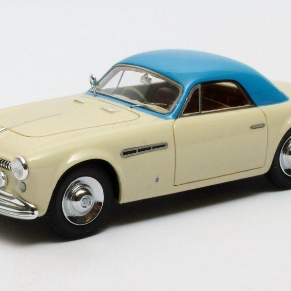 Alfa Romeo 6C 2500 SS Supergioiello Ghia Coupe 1950 Creme/Blauw 1-43 Matrix Scale Models Limited 408 pcs.