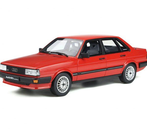 Audi 80 Quattro B2 1983 Mars Red 1-18 Ottomobile Limited 2000 Pieces