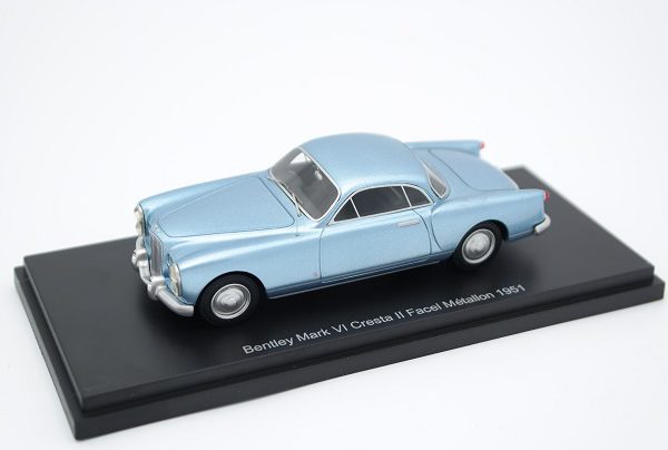 Bentley MK VI Cresta II Facel Metallon 1951 Blue Metallic 1-43 BOS Models