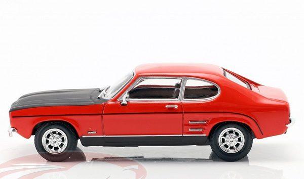 Ford Capri MK I Rood / Zwart 1-43 Cararama