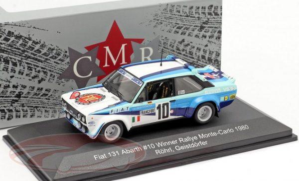 Fiat 131 Abarth #10 Winner Rallye Monte Carlo 1980 W.Röhrl / Geistdörfer 1:43 CMR Models
