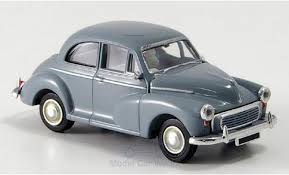 Morris Minor 1000 (LHD) Grijs 1-87 Brekina