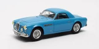 Alfa Romeo 6C 2500 SS Supergioiello Ghia Coupe 1950 Blauw 1-43 Matrix Scale Models Limited 408 pcs.