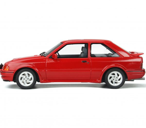 Ford Escort MKIV RS Turbo 1990 Rood 1-18 Ottomobile Limited 999 Pieces