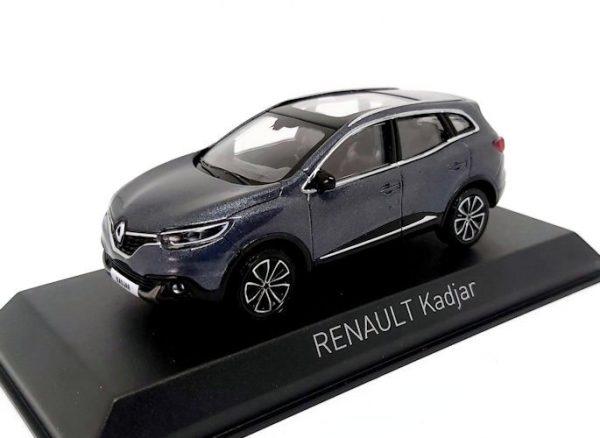 Renault Kadjar 2015 Titanium Grijs Metallic 1:43 Norev