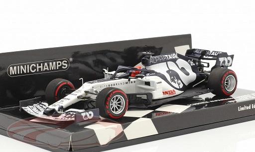 Scuderia Alpha Tauri Honda AT01 #26 Austrian GP 2020 Daniil Kvyat 1:43 Minichamps Limited 400 Pieces