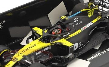 Renault DP World F1 Team R.S.20 #31 Austrian GP 2020 Esteban Ocon 1:43 Minichamps Limited 306 Pieces