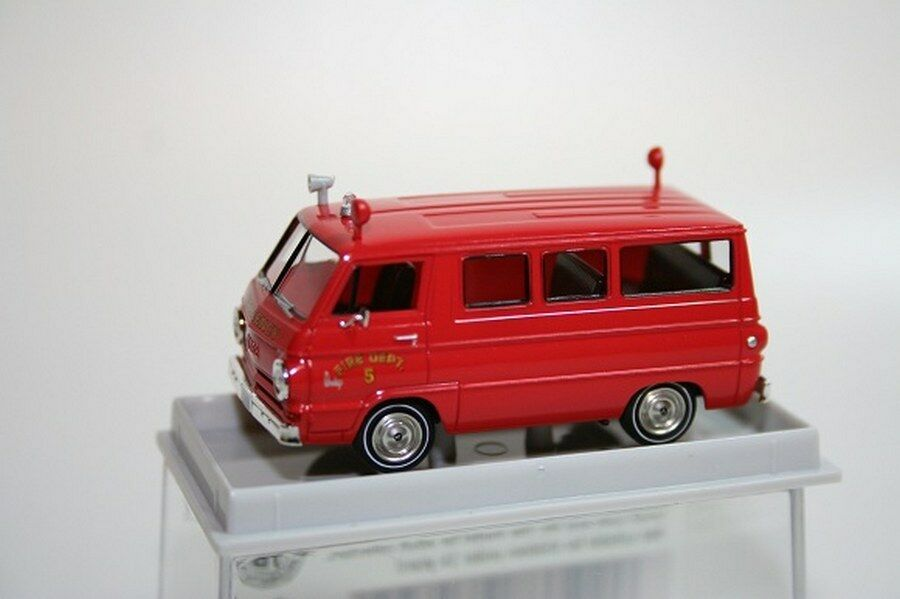 Dodge A 100 Fire Dept Emergency 1-87 Rood Brekina