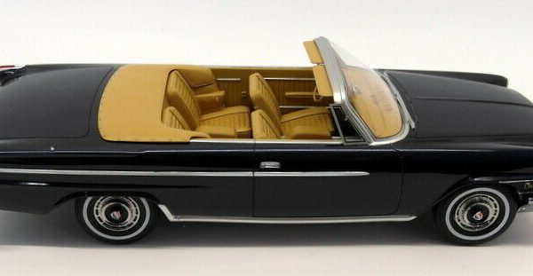 Chrysler 300H Convertible 1962 Dark Blue 1-18 BOS Models Limited 504 Pieces