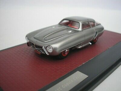 Pegaso Z102 PS 2.5 Cupola Coupe 1953 Zilver 1-43 Matrix Scale Models Limited 408 pcs.