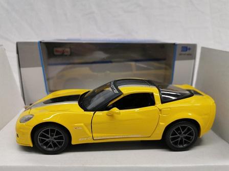 Chevrolet Corvette Z06 GT1 Commemorative Edition 2009 Geel / Zwart 1-24 Maisto