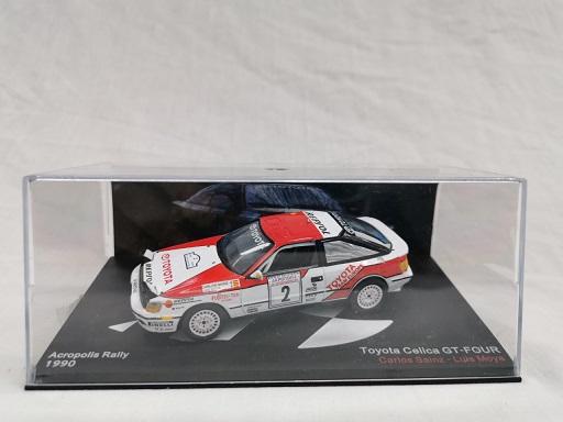 Toyota Celica GT-Four #2 Acropolis Rally 1990 Carlos Sainz / Luis Moya 1-43 Altaya Rallye Collection