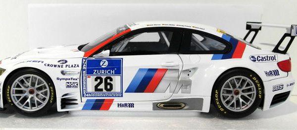 BMW M3 GT2 #26 BMW Motorsport Drivers: Werner/Muller/Priaulx/Adorf 24hrs Nürburgring 2010 1-18 Minichamps