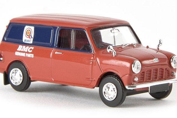 "Austin Mini Van ""BMC-Geniune Parts"" 1-87 Rood Brekina"